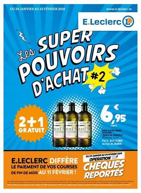 LAPUB.RE - PROSPECTUS DE E - LECLERC - LES SUPER POUVOIRS D ...