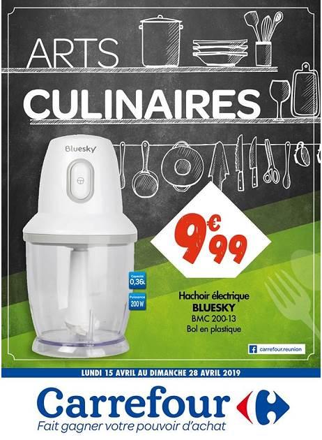 Lapub Re Prospectus De Carrefour Arts Culinaires Reunion 974