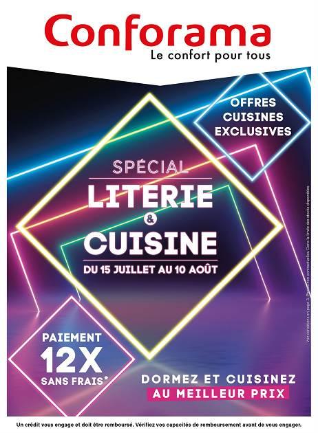 Lapubre Prospectus De Conforama Special Literie Et