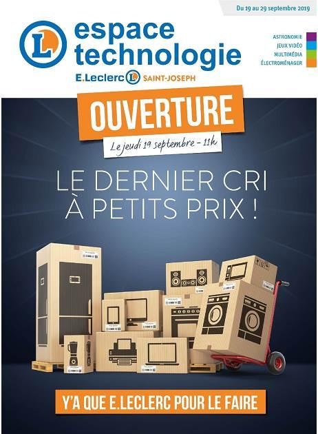 Lapubre Prospectus De E Leclerc Espace Technologie Du