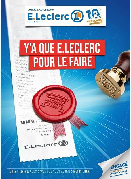 Lapub Re Prospectus De E Leclerc Y A Que E Leclerc Pour Le