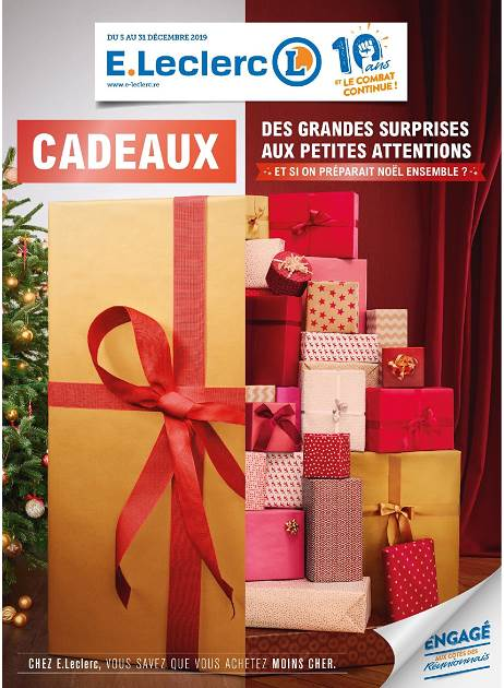 Lapubre Prospectus De E Leclerc Cadeaux Réunion 974