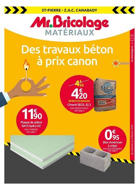 Lapubre Prospectus De Mr Bricolage Des Travaux Béton A