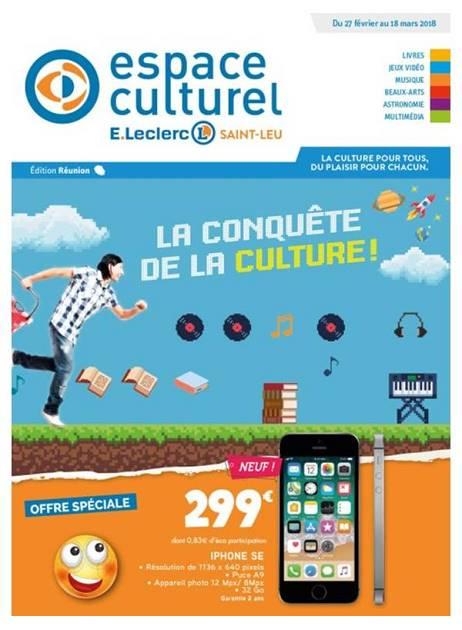 Lapubre Prospectus De E Leclerc La Conquete De La