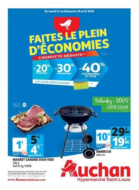 Lapubre Prospectus De Auchan St Louis Faites Le Plein D