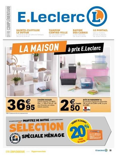 Lapubre Prospectus De E Leclerc La Maison A Prix E
