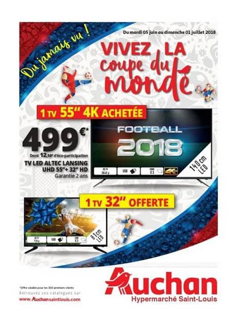 Lapubre Prospectus De Auchan St Louis Vivez La Coupe Du
