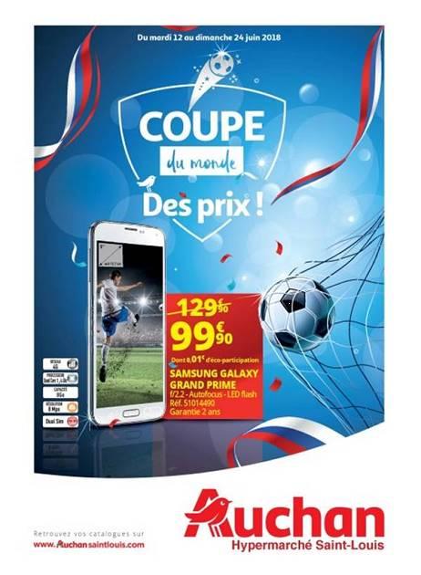 Lapubre Prospectus De Auchan St Louis Coupe Du Monde