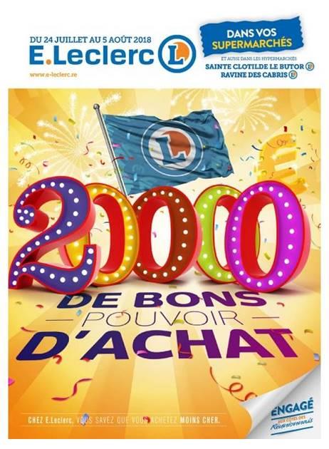 Lapubre Prospectus De E Leclerc 20000 De Bons Pouvoir