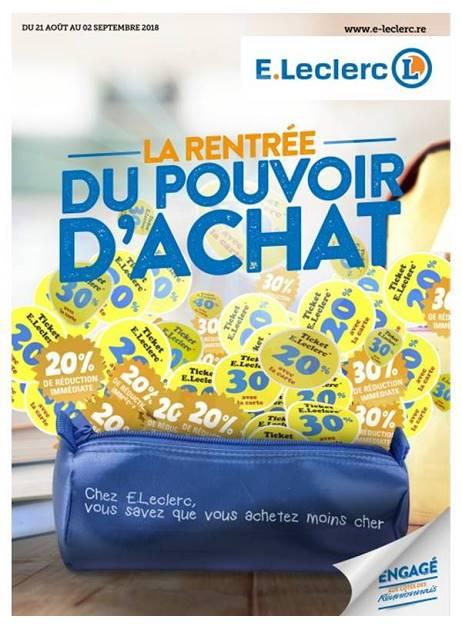 Lapubre Prospectus De E Leclerc La Rentree Du Pouvoir